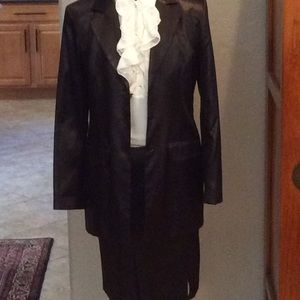💥PRICE DROP💥 Claude Zana Paris Black suit
